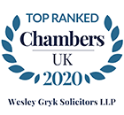 Top Ranked Chambers UK 2020